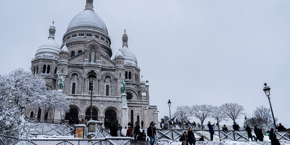 [EN PHOTOS] Paris sous la neige