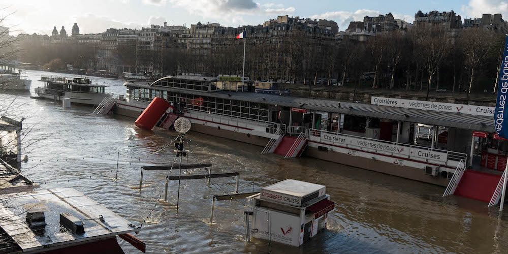 [EN PHOTOS] La Seine déborde à Paris