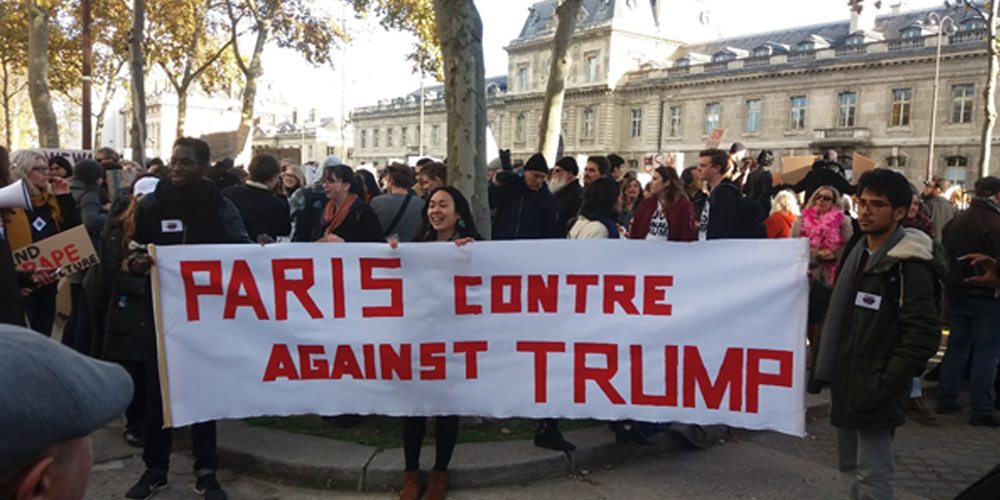 Lire la suite : Les manifestations anti-Trump s'exportent à Paris