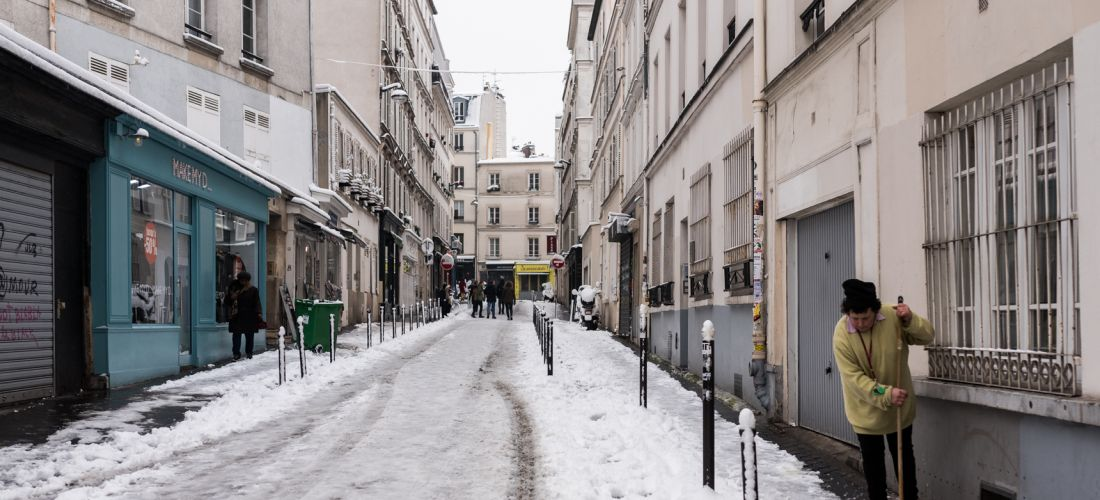 Neige a Paris 2018 Photo Lucas Pierre